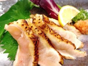 大和肉鶏のタタキぽん酢