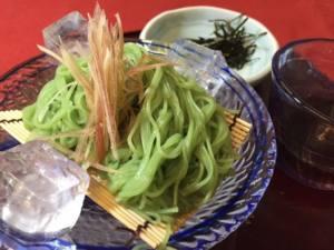 三輪茶そうめん(冷/温)