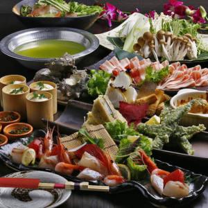 【120分飲み放題付】奈良のおいしさが詰まった贅沢鍋『大和ポークと大和肉鶏の茶鍋コース』|宴会・飲み会
