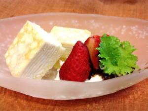 季節のアイスケーキ