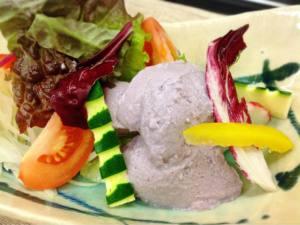 季節の豆腐サラダ